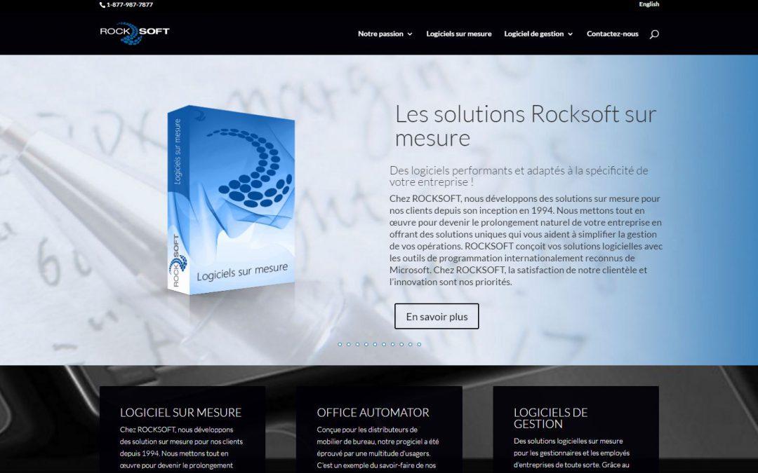 Le site web de Rocksoft fait peau neuve!