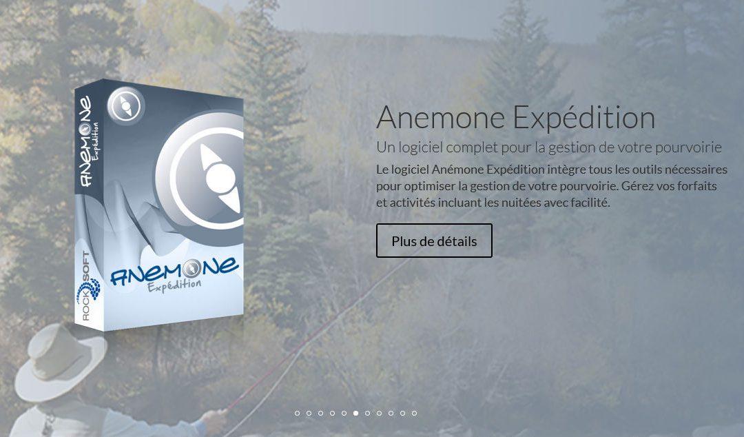 Anémone Expédition : le logiciel de gestion de pourvoirie